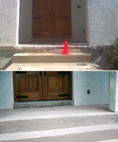 Residential Concrete Concrete Repair Specialists