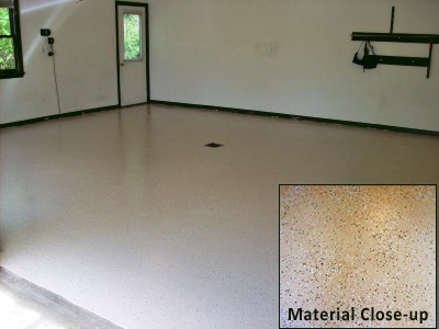 Basement Floor, coating