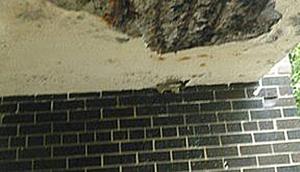 concrete bridge damage